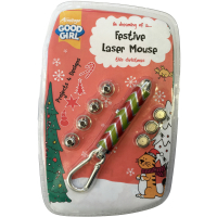 Good Girl Armitage Festive Laser Mouse Christmas Cat Toy