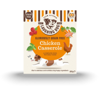 Laughing Dog Grain Free Chicken Casserole Dog Food 395g x 8
