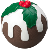 House of Paws Latex Christmas Pudding Dog Toy Small 9cm diameter