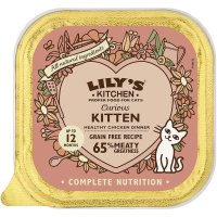 Lilys Kitchen Curious Kitten Complete Wet Cat Food  85g x 19