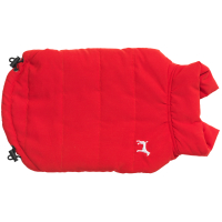 House Of Paws Fleece Lined Gilet Red Dog Coat Large