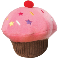 House of Paws Vanilla Scented Cupcake Dog Toy Pink