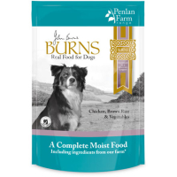 Burns Penlan Farm Chicken, Brown Rice & Veg Moist Dog Food
