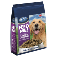 HiLife Feed Me! Complete Nutrition Lamb & Chicken With Tomato & Veg Semi-Moist Dog Food