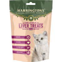 Harringtons Liver Cat Treats 65g