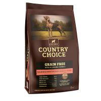 Gelert Country Choice Grain Free Salmon & Sweet Potato Adult Dog Food