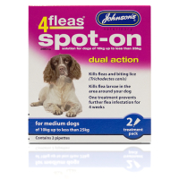 Johnsons 4 Fleas Spot On Dog