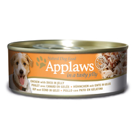 Applaws Chicken & Duck In Jelly Wet Adult Dog Food 156g x 12