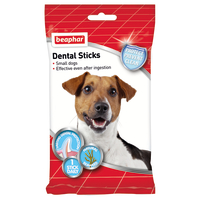 Beaphar Dental Sticks Small Dog Treats 7 Sticks - Small Dog