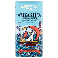 Lilys Kitchen M'Hearties Cod Dog Treats 34g