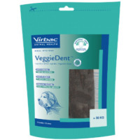 Virbac Veggie Dent Dental Dog Chews Large