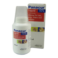 Panacur Suspension for Cats & Dogs 10% x 100ml NFA-DC