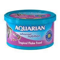 Aquarian Tropical Flakes Fish Food 200g