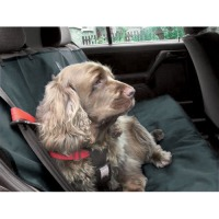 Danish Design Dog Car Seat Cover Charcoal Grey