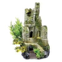Classic Castle Ruin Fish Tank Ornament