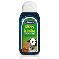 Johnsons Puppy and Kitten Shampoo