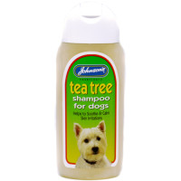 Johnsons Tea Tree Dog Shampoo 400ml