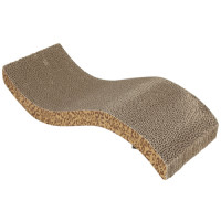 Catit Leopard Print Scratching Board with Catnip