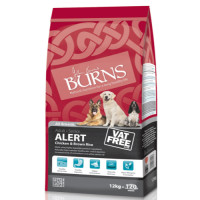 Burns Alert Chicken & Brown Rice Adult & Senior Dog Food