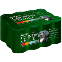 Gelert Country Choice Variety Dog Food 400g x 12