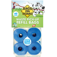 Bags On Board Blue Poop Bags 60 Bags