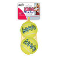 KONG Air Squeaker Tennis Ball Dog Toy Large 2 pack