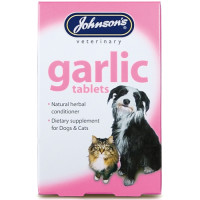 Johnsons Dog & Cat Garlic Tablets  x 40