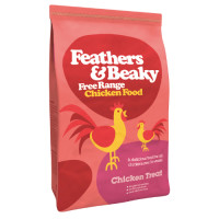 Feathers and Beaky Free Range Chicken Treat