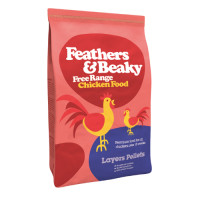 Feathers & Beaky Free Range Layers Pellets 15kg