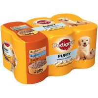 Pedigree Can Mixed Variety Puppy Food 400g x 6