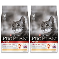 PRO PLAN Chicken Optirenal Adult Cat Food 10kg x 2