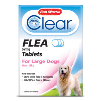Bob Martin Flea Tablets Large Dogs Over 11kg