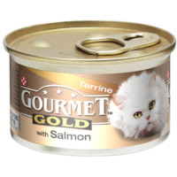 Gourmet Gold Terrine with Salmon Cat Food 85g x 12
