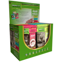 Natures Menu Multipack Adult Cat Food Pouches 100g x 12
