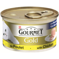 Gourmet Gold Pate with Chicken Cat Food 85g x 12