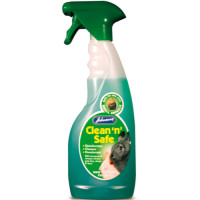 Johnsons Clean n Safe Small Animal Disinfectant 500ml