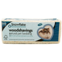 Snowflake Woodshavings