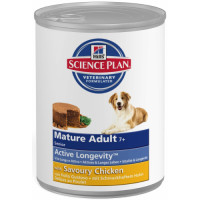 Hills Science Plan Canine Mature Adult 7+ Chicken Canned 370g x 12