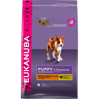 Eukanuba Chicken Medium Breed Puppy Food 12kg