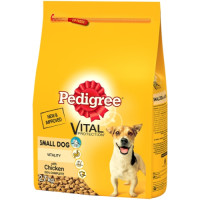 Pedigree Complete Vital Protection Chicken Dry Small Dog Food 2.3kg