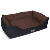 Scruffs Expedition Waterproof Dog Bed Chocolate 90x70cm