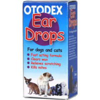 Otodex Ear Drops for Cats and Dogs