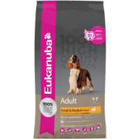 Eukanuba Lamb & Rice Small & Medium Breed Adult Dog Food 12kg