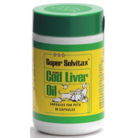 Super Solvitax Cod Liver Oil Capsules