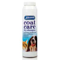 Johnsons Coat Care Dry Dog & Cat Shampoo 85g