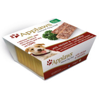 Applaws Pate with Vegetables Adult Dog Food 150g x 7 - Chicken