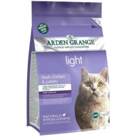 Arden Grange Light Chicken & Potato Adult Cat Food 4kg