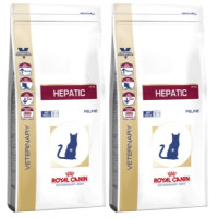 Royal Canin Veterinary Diets Hepatic HF 26 Cat Food 4kg x 2