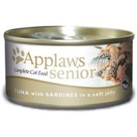Applaws Tuna & Sardine in Jelly Can Senior Cat Food 70g x 24