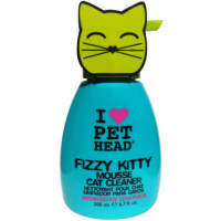Pet Head Fizzy Kitty Mousse Cat Cleaner Foam Shampoo 190ml